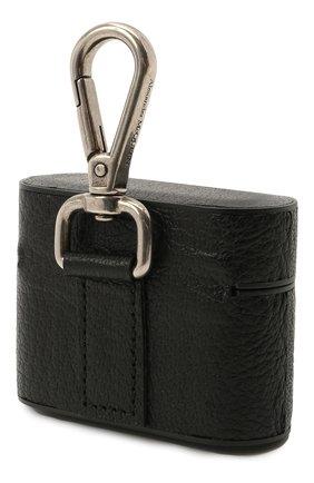 Кожаный чехол для airpods pro ALEXANDER MCQUEEN черного цвета, арт. 647255/1HG0Y | Фото 2