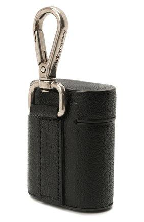 Кожаный чехол для airpods ALEXANDER MCQUEEN черного цвета, арт. 647252/1HG0Y | Фото 2
