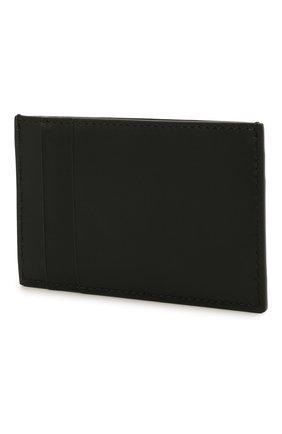 Мужской кожаный футляр для кредитных карт ALEXANDER MCQUEEN черного цвета, арт. 602144/1AACF | Фото 2
