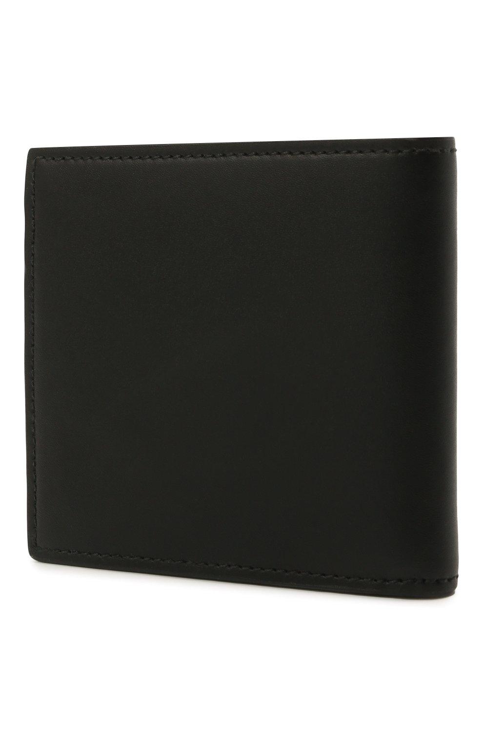 Мужской кожаное портмоне ALEXANDER MCQUEEN черного цвета, арт. 602137/1AACS | Фото 2