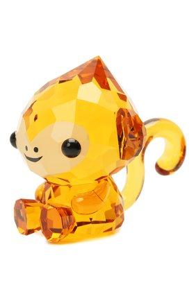 Скульптура cheerful monkey SWAROVSKI оранжевого цвета, арт. 5302555 | Фото 2