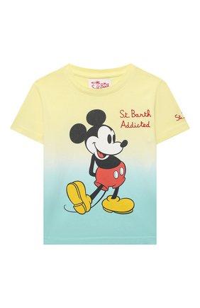 Детская хлопковая футболка MC2 SAINT BARTH разноцветного цвета, арт. STBK P0RT0FIN0 JR T/P0T0006 | Фото 1