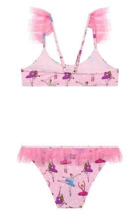 Детского раздельный купальник MC2 SAINT BARTH розового цвета, арт. STBK DALYA/DALY001   Фото 2