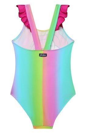 Детского слитный купальник MC2 SAINT BARTH разноцветного цвета, арт. STBK CAR0L/CAR0001/MGCRNC   Фото 2