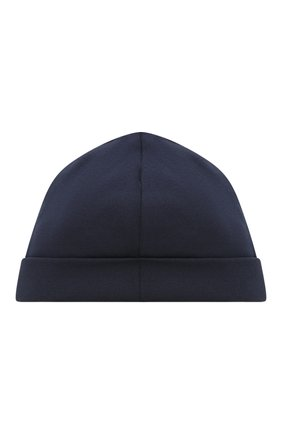 Детского хлопковая шапка POLO RALPH LAUREN синего цвета, арт. 320552454 | Фото 2