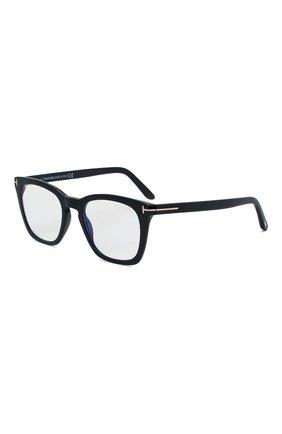 Мужские оправа TOM FORD черного цвета, арт. TF5736-B 001 | Фото 1 (Тип очков: Оправа; Оптика Гендер: оптика-мужское; Очки форма: Прямоугольные)