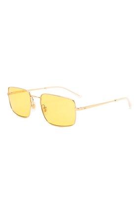 Женские солнцезащитные очки RAY-BAN желтого цвета, арт. 3669-001/Q1 | Фото 1