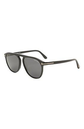 Мужские солнцезащитные очки TOM FORD черного цвета, арт. TF835 01A | Фото 1
