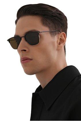 Мужские солнцезащитные очки TOM FORD хаки цвета, арт. TF851 01J | Фото 2