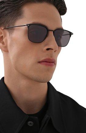 Мужские солнцезащитные очки TOM FORD черного цвета, арт. TF851 02C | Фото 2