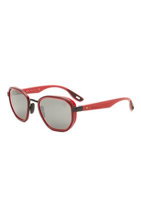 Женские солнцезащитные очки RAY-BAN красного цвета, арт. 3674M-F0026G | Фото 1