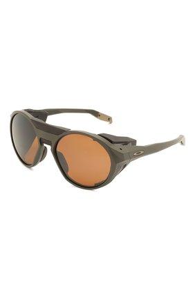 Женские солнцезащитные очки OAKLEY хаки цвета, арт. 9440-944004 | Фото 1