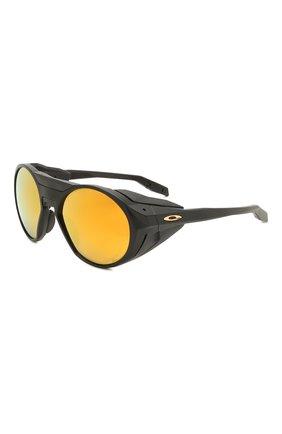 Женские солнцезащитные очки OAKLEY черного цвета, арт. 9440-944007 | Фото 1