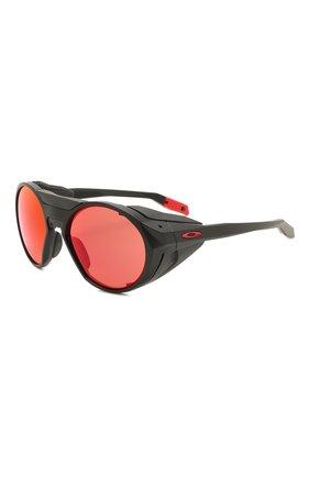 Женские солнцезащитные очки OAKLEY черного цвета, арт. 9440-944003 | Фото 1
