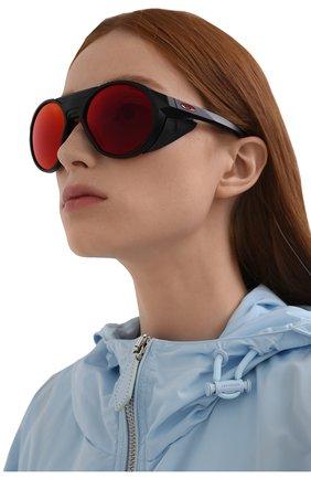 Женские солнцезащитные очки OAKLEY черного цвета, арт. 9440-944003 | Фото 2