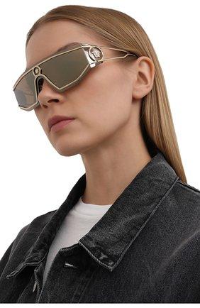 Женские солнцезащитные очки VERSACE золотого цвета, арт. 2226-12527P | Фото 2