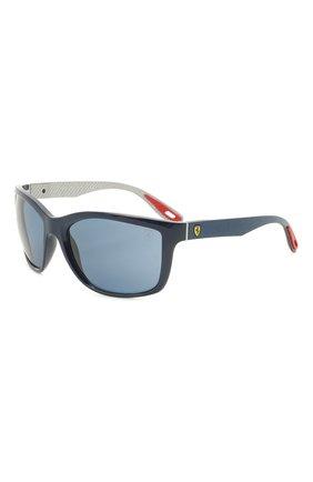 Мужские солнцезащитные очки RAY-BAN синего цвета, арт. 8356M-F62180 | Фото 1