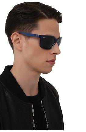 Мужские солнцезащитные очки RAY-BAN синего цвета, арт. 8356M-F62180 | Фото 2