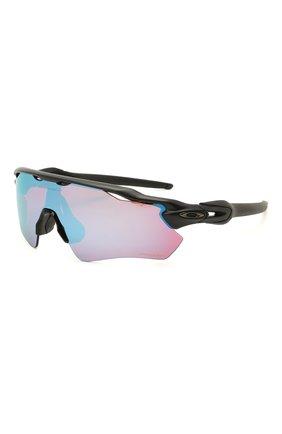 Женские солнцезащитные очки OAKLEY черного цвета, арт. 9208-920897 | Фото 1