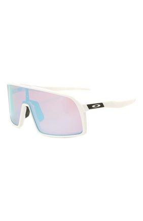 Женские солнцезащитные очки OAKLEY белого цвета, арт. 9406-940622 | Фото 1