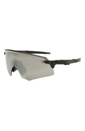 Женские солнцезащитные очки OAKLEY черного цвета, арт. 9471-947103 | Фото 1