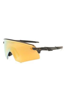 Женские солнцезащитные очки OAKLEY желтого цвета, арт. 9471-947104 | Фото 1
