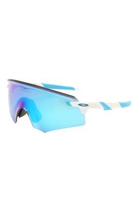 Женские солнцезащитные очки OAKLEY голубого цвета, арт. 9471-947105 | Фото 1