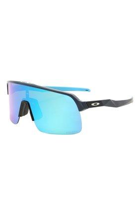Женские солнцезащитные очки OAKLEY голубого цвета, арт. 9463-946306 | Фото 1