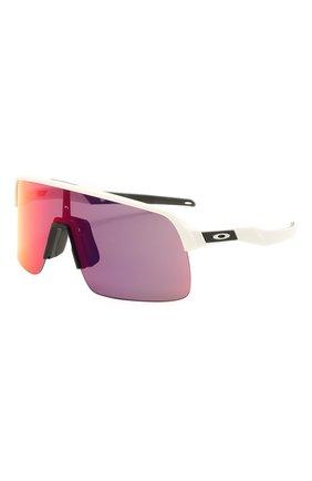 Женские солнцезащитные очки OAKLEY белого цвета, арт. 9463-946302 | Фото 1