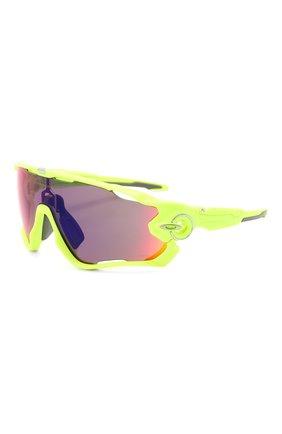 Женские солнцезащитные очки OAKLEY желтого цвета, арт. 9290-929026 | Фото 1