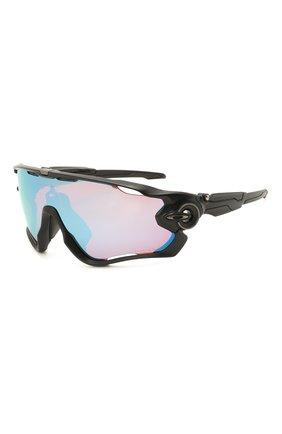 Женские солнцезащитные очки OAKLEY черного цвета, арт. 9290-929053 | Фото 1