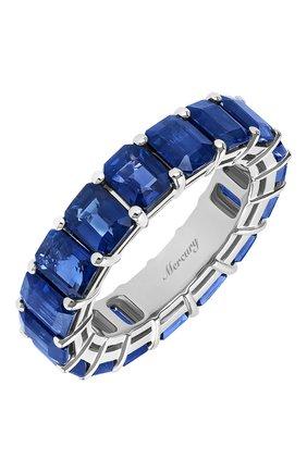 Женские кольцо MERCURY бесцветного цвета, арт. MR27506/WG/1SP0.5 | Фото 1 (Драгоценные камни: Сапфиры; Материал сплава: Белое золото)