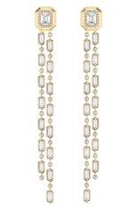 Женские серьги MESSIKA бесцветного цвета, арт. 11781-YG | Фото 1 (Драгоценные камни: Бриллианты; Материал сплава: Желтое золото)
