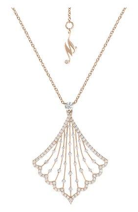 Женские кулон MERCURY бесцветного цвета, арт. MP25878/RG | Фото 1 (Драгоценные камни: Бриллианты; Материал сплава: Розовое золото)