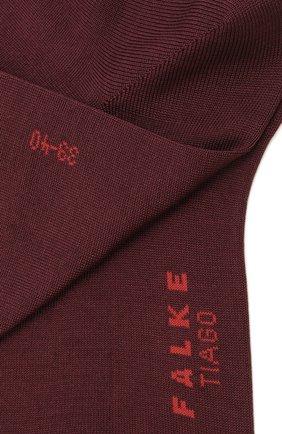 Мужские хлопковые носки tiago FALKE бордового цвета, арт. 14662 | Фото 2 (Материал внешний: Хлопок; Кросс-КТ: бельё)