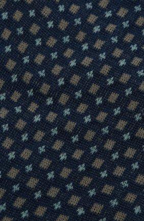 Мужские хлопковые носки FALKE синего цвета, арт. 12437 | Фото 2