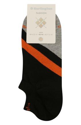 Мужские хлопковые носки BURLINGTON черного цвета, арт. 21929 | Фото 1