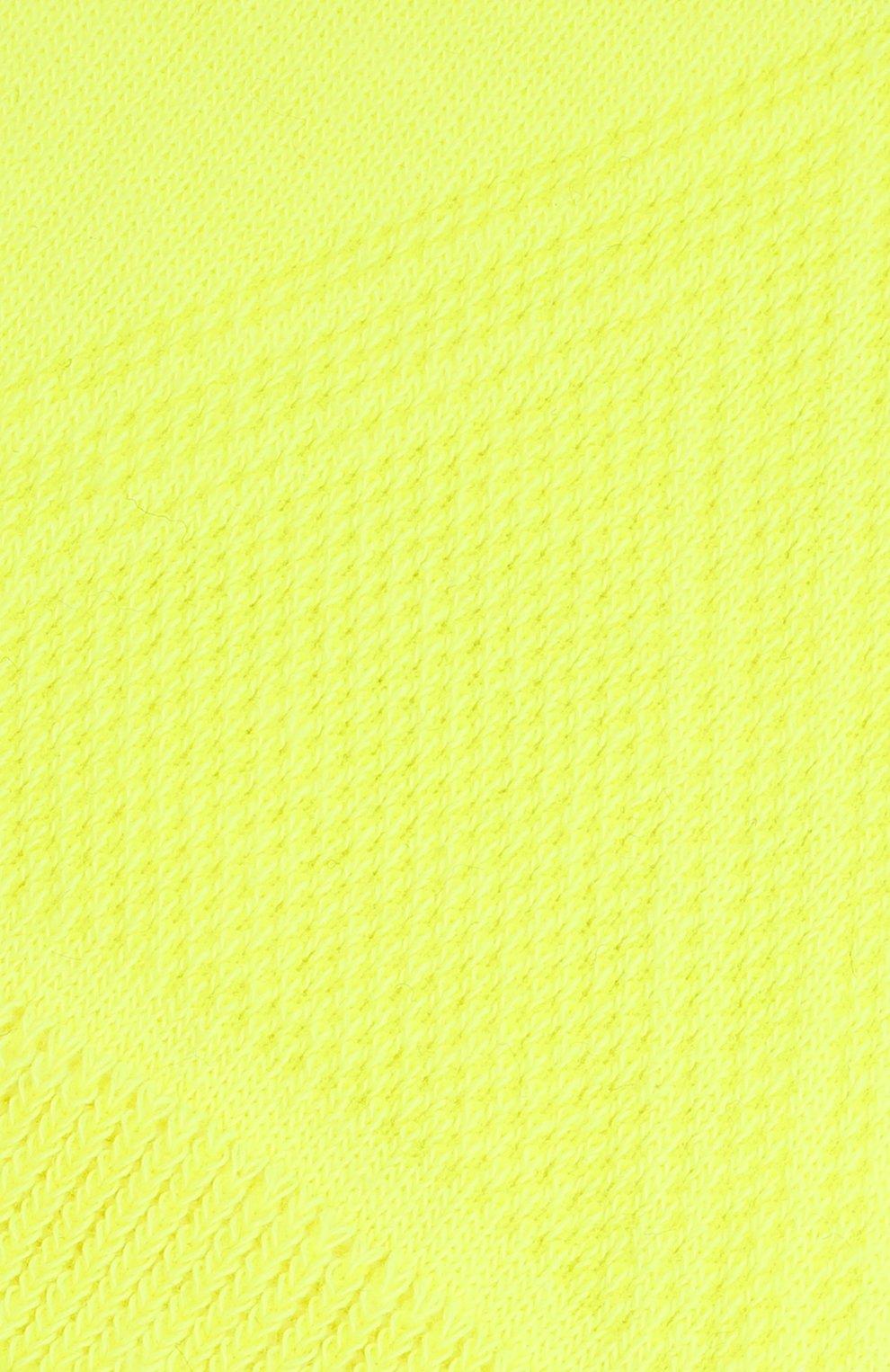 Мужские подследники cool kick FALKE желтого цвета, арт. 16601 | Фото 2 (Кросс-КТ: бельё; Материал внешний: Синтетический материал)