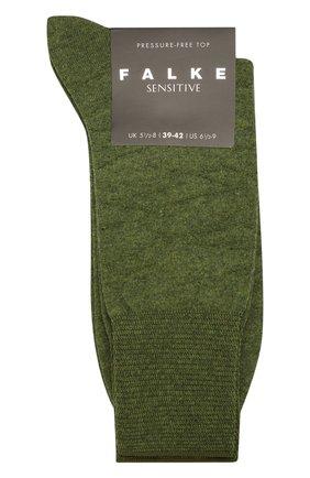 Мужские носки FALKE зеленого цвета, арт. 12440 | Фото 1