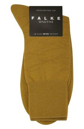 Мужские носки FALKE хаки цвета, арт. 12440 | Фото 1