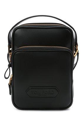 Мужская кожаная сумка TOM FORD черного цвета, арт. H0465T-LCL121 | Фото 1