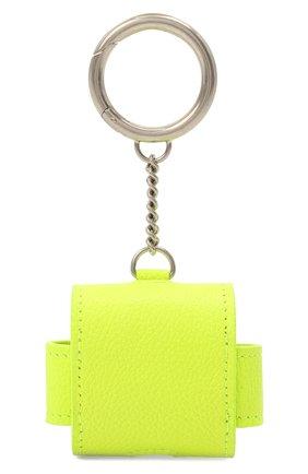 Кожаный чехол для airpods pro BALENCIAGA желтого цвета, арт. 655679/2UQ13   Фото 2