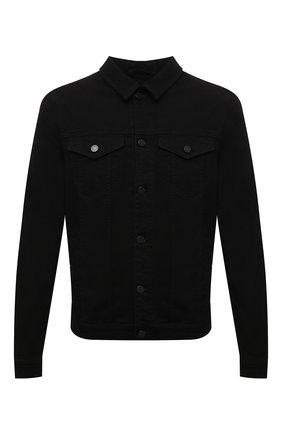Мужская джинсовая куртка 7 FOR ALL MANKIND черного цвета, арт. JSK5B820LR | Фото 1