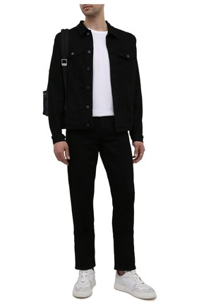 Мужская джинсовая куртка 7 FOR ALL MANKIND черного цвета, арт. JSK5B820LR | Фото 2