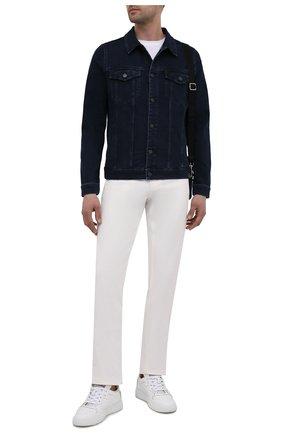 Мужская джинсовая куртка 7 FOR ALL MANKIND синего цвета, арт. JSK5R460LL | Фото 2