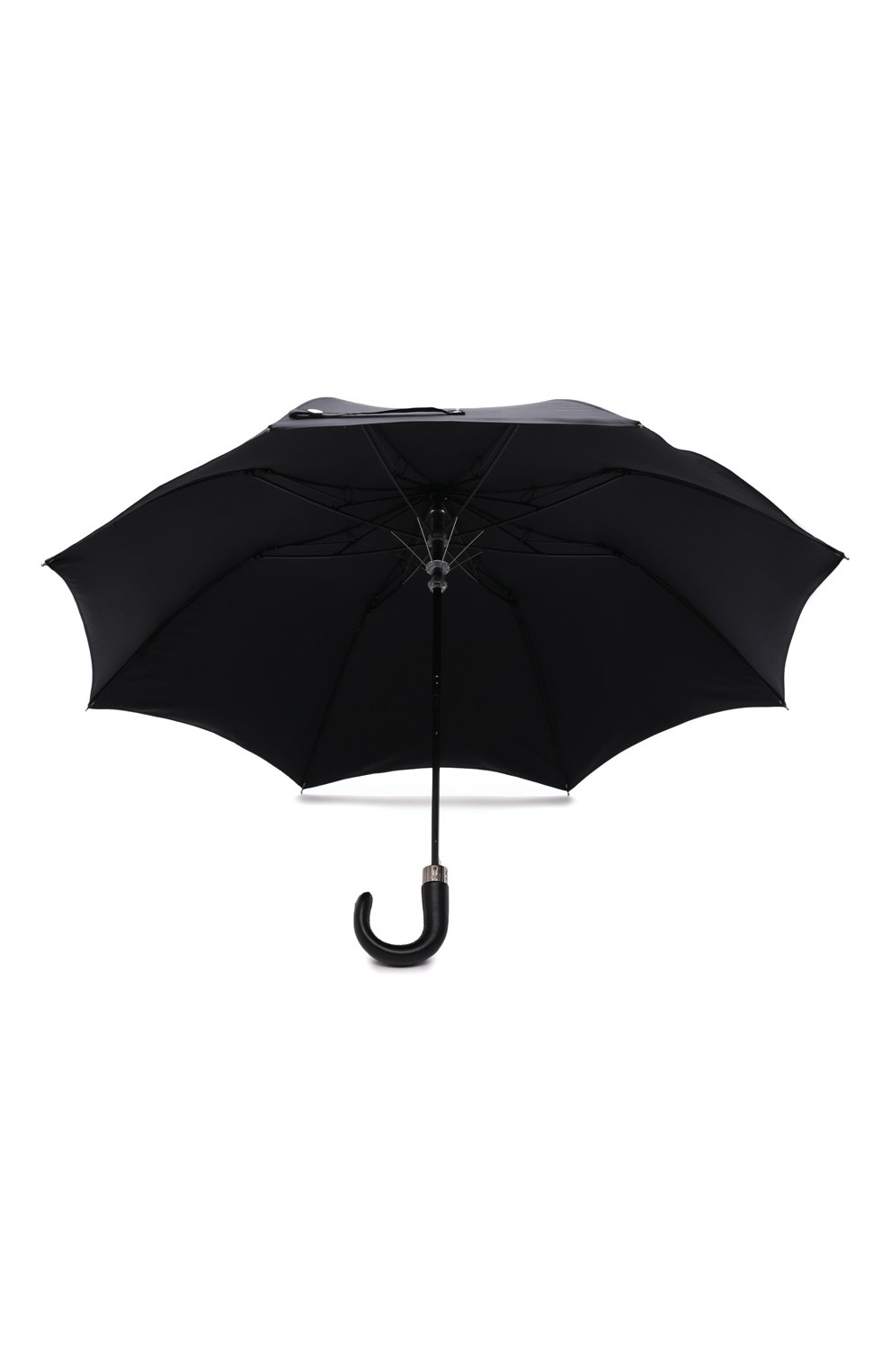 Мужской складной зонт ALEXANDER MCQUEEN черного цвета, арт. 663426/4A71Q   Фото 3 (Материал: Текстиль, Синтетический материал, Металл)
