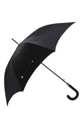 Мужской зонт-трость ALEXANDER MCQUEEN черного цвета, арт. 661949/4D48Q | Фото 2