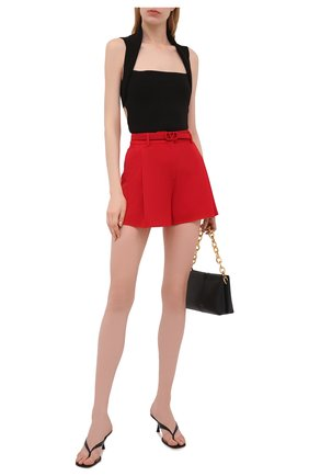 Женские шорты VALENTINO красного цвета, арт. WB3RF1R56DP | Фото 2