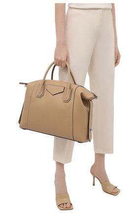 Женская сумка antigona soft medium GIVENCHY бежевого цвета, арт. BB50F2B11E | Фото 2