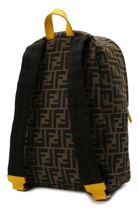 Детская рюкзак FENDI коричневого цвета, арт. 8BZ040/AEWQ | Фото 2